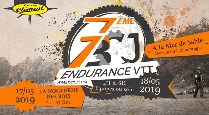 Endurance BCJ VTT 2019