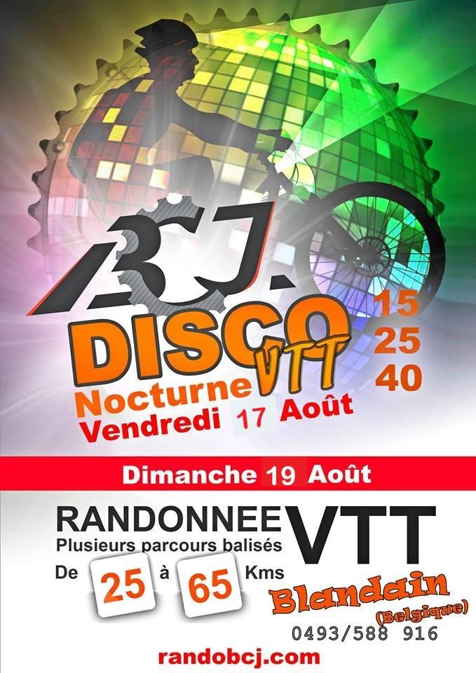 Rando Nocturne VTT de Blandain (B)